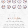 Purple Glitter Rose Gold Instagram Stylish Social Media Highlight Cover Icons by Scotch and Salt