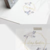 Gold and Lavender Logo Design for Photographers by Scotch and Salt