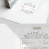 Floral Rose Gold and Mint Logo Design for Photographers by Scotch and Salt