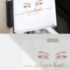 Rose Gold and Pink Premade Logo Design for Makeup Artists by Scotch and Salt