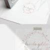 Rose Gold Sparkle Premade Logo Design for Makeup Artist by Scotch and Salt