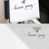 Rose Gold Premade Logo Design for Boutiques by Scotch and Salt