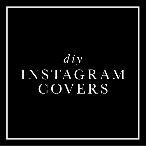 DIY Instagram Covers