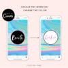 Hologram INSTAGRAM HIGHLIGHT covers, DIY instagram Story Icons Template, Hologram Glitter Instagram Branding, Holographic Instagram Icon