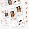 BEAUTY Instagram Story Highlights Icons BUNDLE, Makeup Artist Rose Gold Instagram Story Template, Instagram Highlights, Beauty, Lifestyle