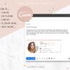 Email Signature Template, Professional Real Estate Clickable Custom Gmail Signature Image, Editable Canva Email Signature Template