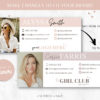 Canva Email template, Professional Email signature template, Easy Editable Email Signature Template with Generator, Clickable Gmail Signature