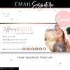 Rose Gold Email Signature